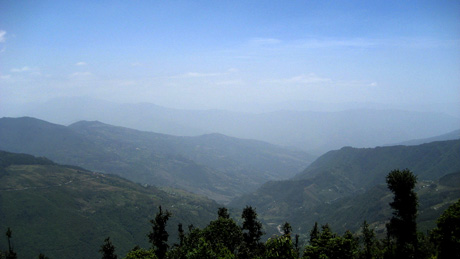 Panorama du parc national Shivapuri Nagarjun (photo: anantal @flickr)